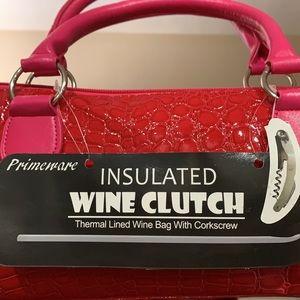 NEW.. Wine Clutch Bag .🍷